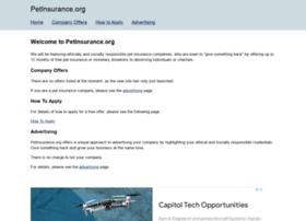 petinsurance.org