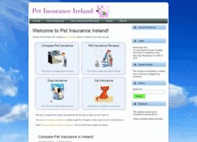 petinsuranceireland.com