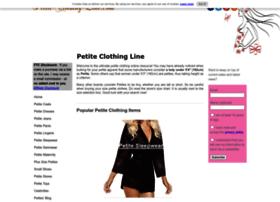 petite-clothing-line.com