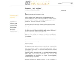 petitionproecclesia.wordpress.com