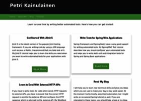 petrikainulainen.net