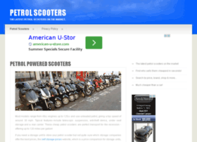 petrolscooters.org.uk