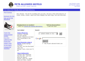 pets-allowed-hotels.com