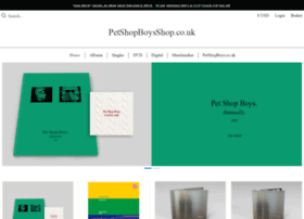 petshopboysshop.co.uk