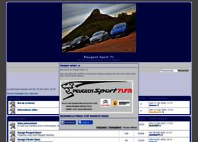 peugeotsport71.forumactif.com