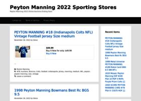 peytonmanning.sportingstores.net