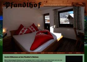 pfandlhof.com