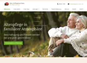 pflegeheim-hahn.de