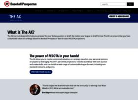 pfm.baseballprospectus.com