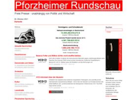 pforzheimer-rundschau.de