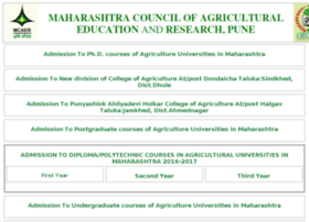 pg.maha-agriadmission.in
