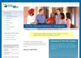 pgpadmissions2012.isb.edu