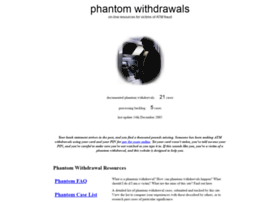 phantomwithdrawals.com