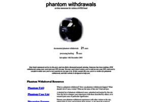 phantomwithdrawals.com