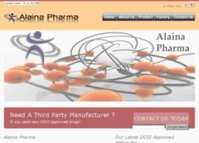 pharma.alaina.co.in