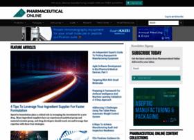 pharmaceuticalonline.com