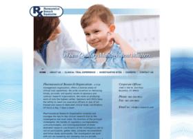 pharmaceuticalresearchorganization.com