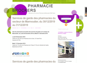 pharmacie-brockers.com