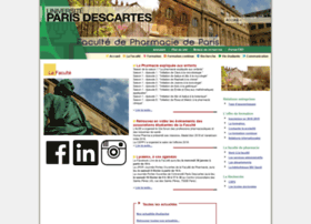 pharmacie.parisdescartes.fr