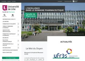 pharmacie.univ-lille2.fr