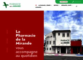 pharmaciedelamirande.fr