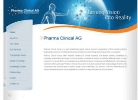 pharmaclinicalag.com