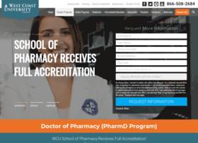 pharmacy.westcoastuniversity.edu