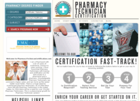 pharmacytechniciancertification.com