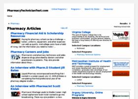 pharmacytechniciantest.com