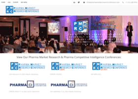 pharmamarketresearchconference.com