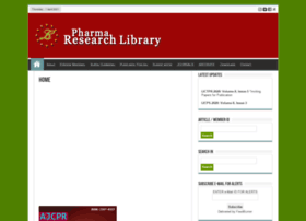 pharmaresearchlibrary.com