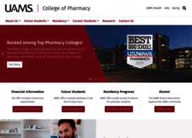 pharmcollege.uams.edu