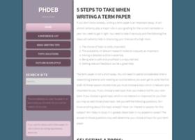 phdeb.org