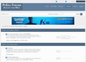 phedu.forums.fm