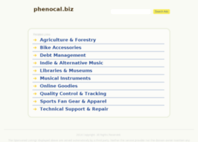 phenocal.biz