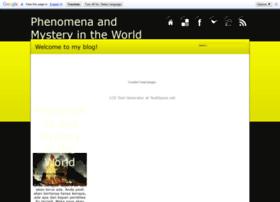 phenomenamystery.blogspot.com