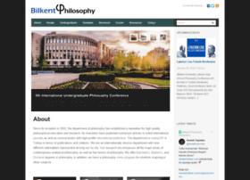 phil.bilkent.edu.tr