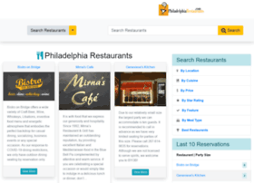 philadelphiarestaurants.com