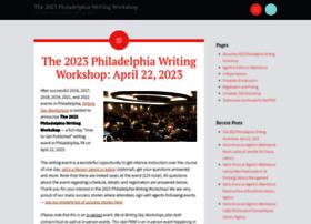 philadelphiawritingworkshop.com