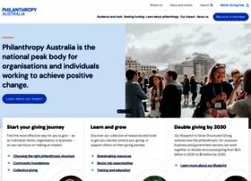 philanthropy.org.au