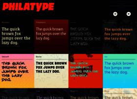 philatype.com