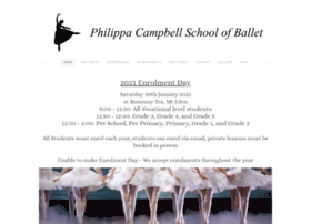 philippacampbellschoolofballet.co.nz