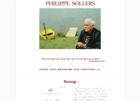 philippesollers.net