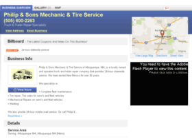 philipsonsmechanictireservice.com