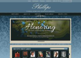 phillipsfuneral.tributecenteronline.com