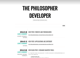 philosopherdeveloper.wordpress.com
