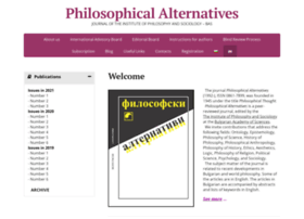 philosophical-alternatives.com