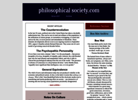 philosophicalsociety.com