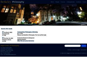philosophy.berkeley.edu