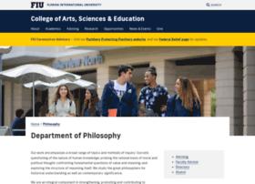 philosophy.fiu.edu